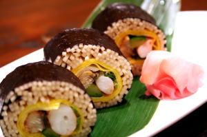 Soba Zushi (Soba Sushi Roll) | Japanese Food Guide | Oksfood